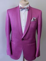 Bruno - Tailored Cerise Dinner Jacket