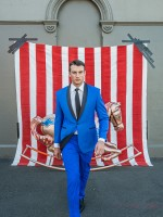 Cobalt blue bespoke / tailor made suit